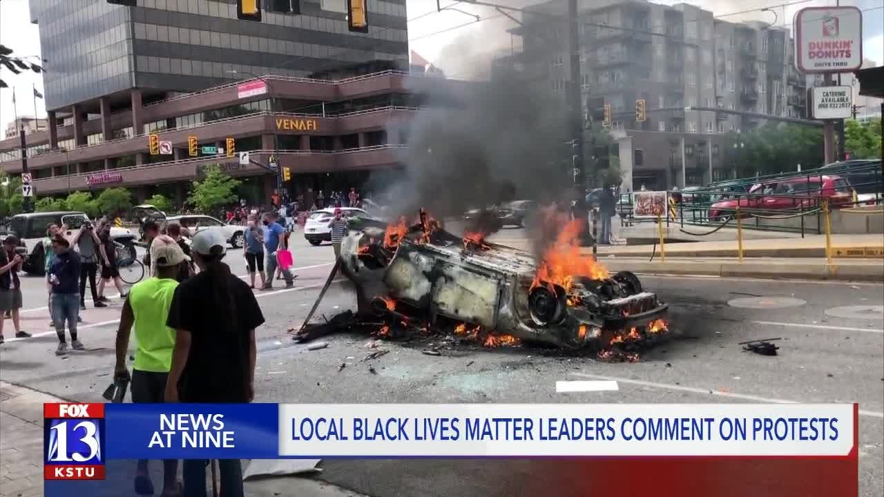 'Black Lives Matter did not hold a protest yesterday': BLM