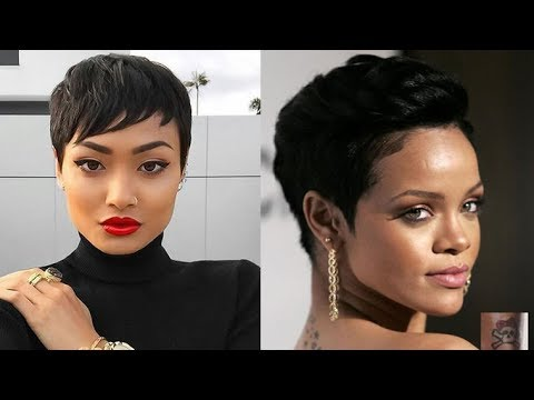 20 Gorgeous Ideas About Pixie Cut for Black Women in