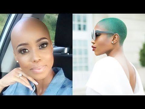 20 Wicked Shaved Hairstyles for Black Women – Bald Haircuts
