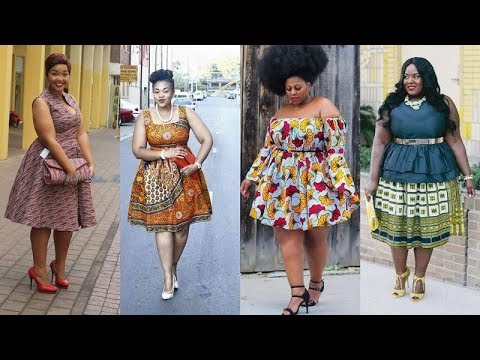 2018/2019 LATEST #KITENGE DRESSES FOR PLUS SIZE DRESSES FOR WOMEN