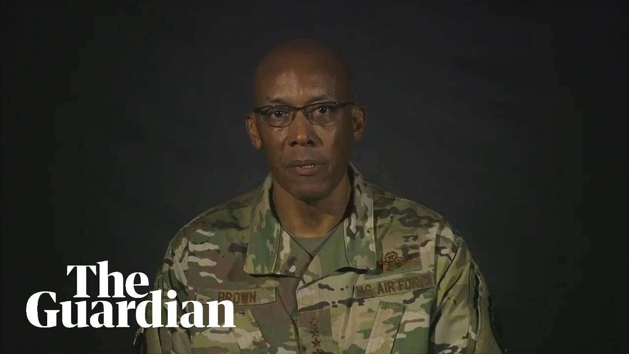 'What I am thinking about': African-American air force general reacts