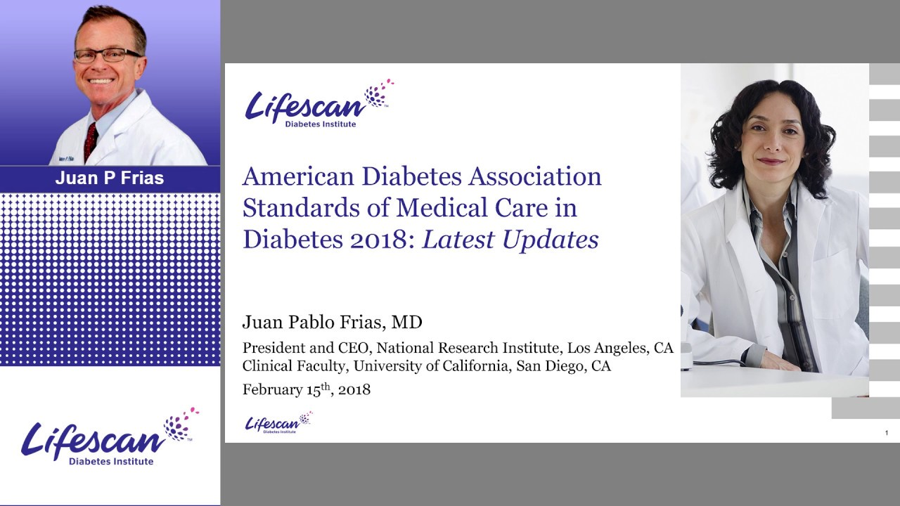 ADA Standards of Medical Care in Diabetes 2018: Latest Updates