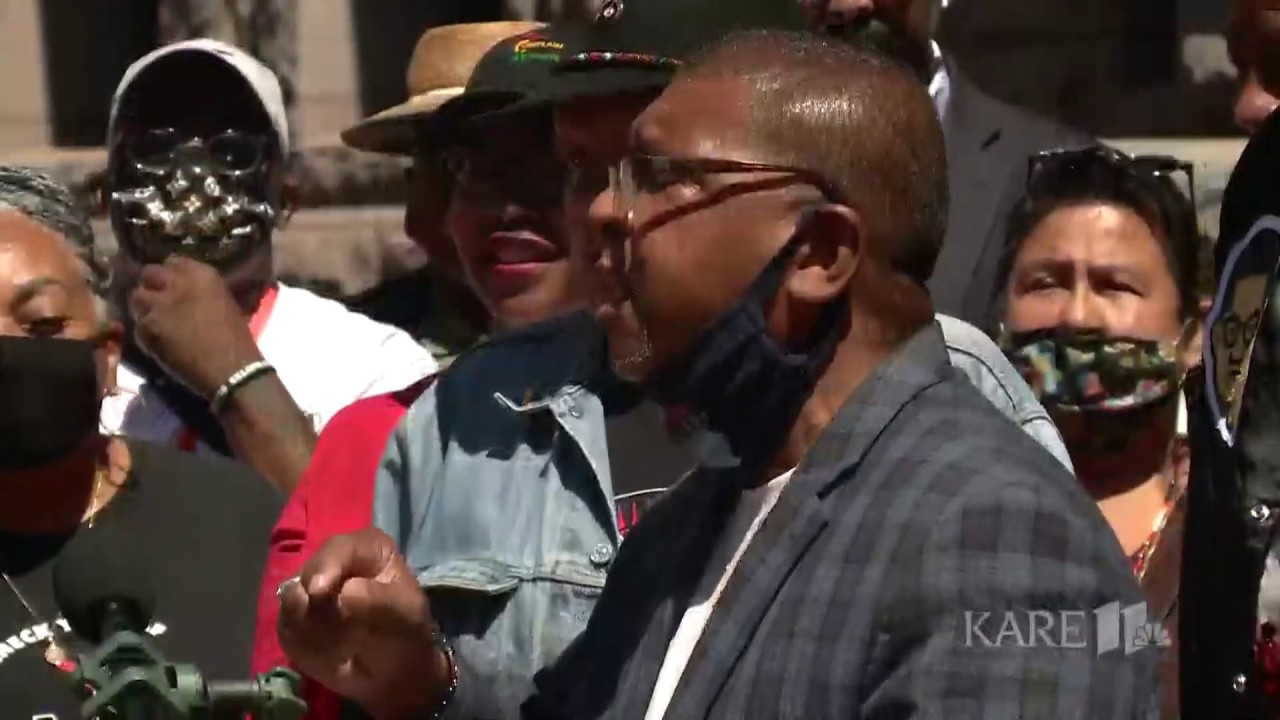 African American community leaders express support for Minneapolis Police Chief