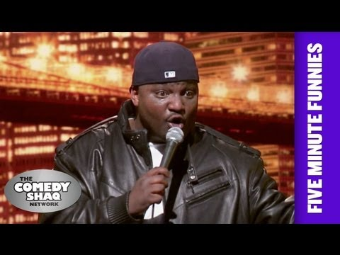 Aries Spears⎢White people do whatever they want⎢Shaq's Five Minute Funnies⎢Comedy