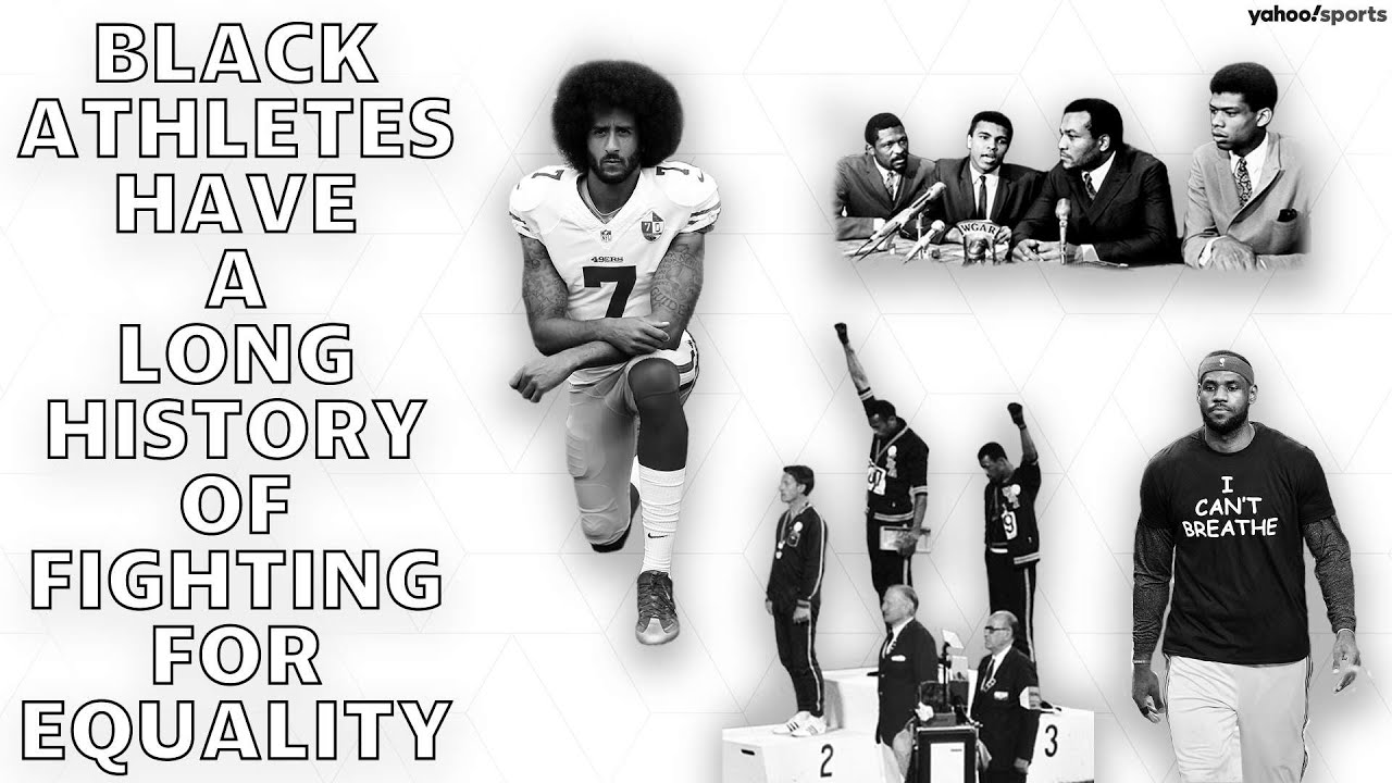 Black Athletes Have a long History of Fighting for Equality