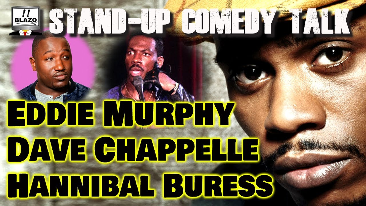 Black Comedians Special – Stand-Up Comedy Talk – Dave Chappelle,