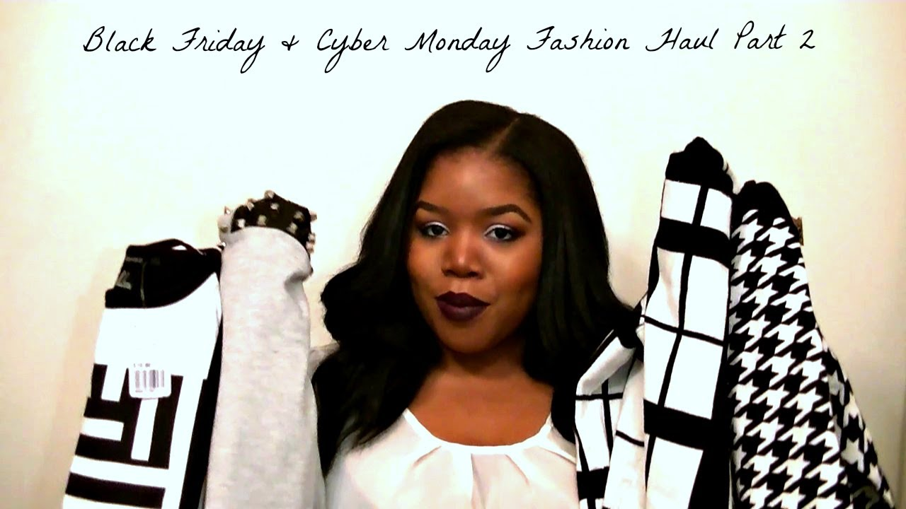 Black Friday & Cyber Monday Fashion Haul Part 2