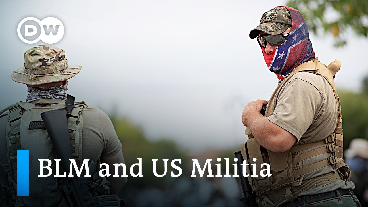 Black Lives Matter and the counter-protest by 'patriot' militia groups