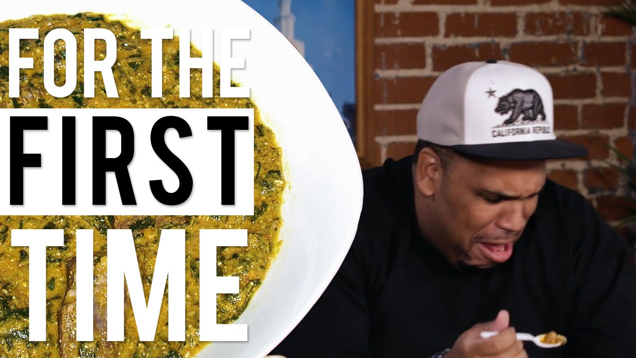 Black People Try African Food 'For the First Time' |