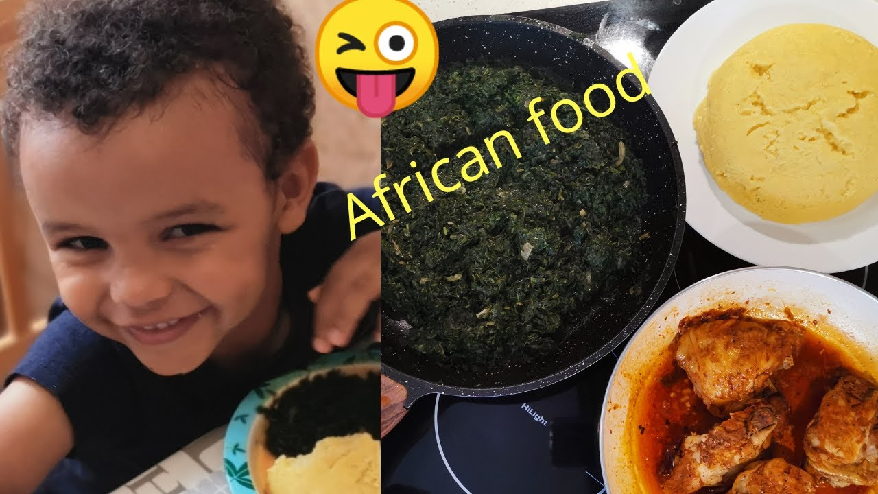 COOKING AFRICAN FOOD FOR MY INTERRACIAL KIDS[COOK WITH ME]