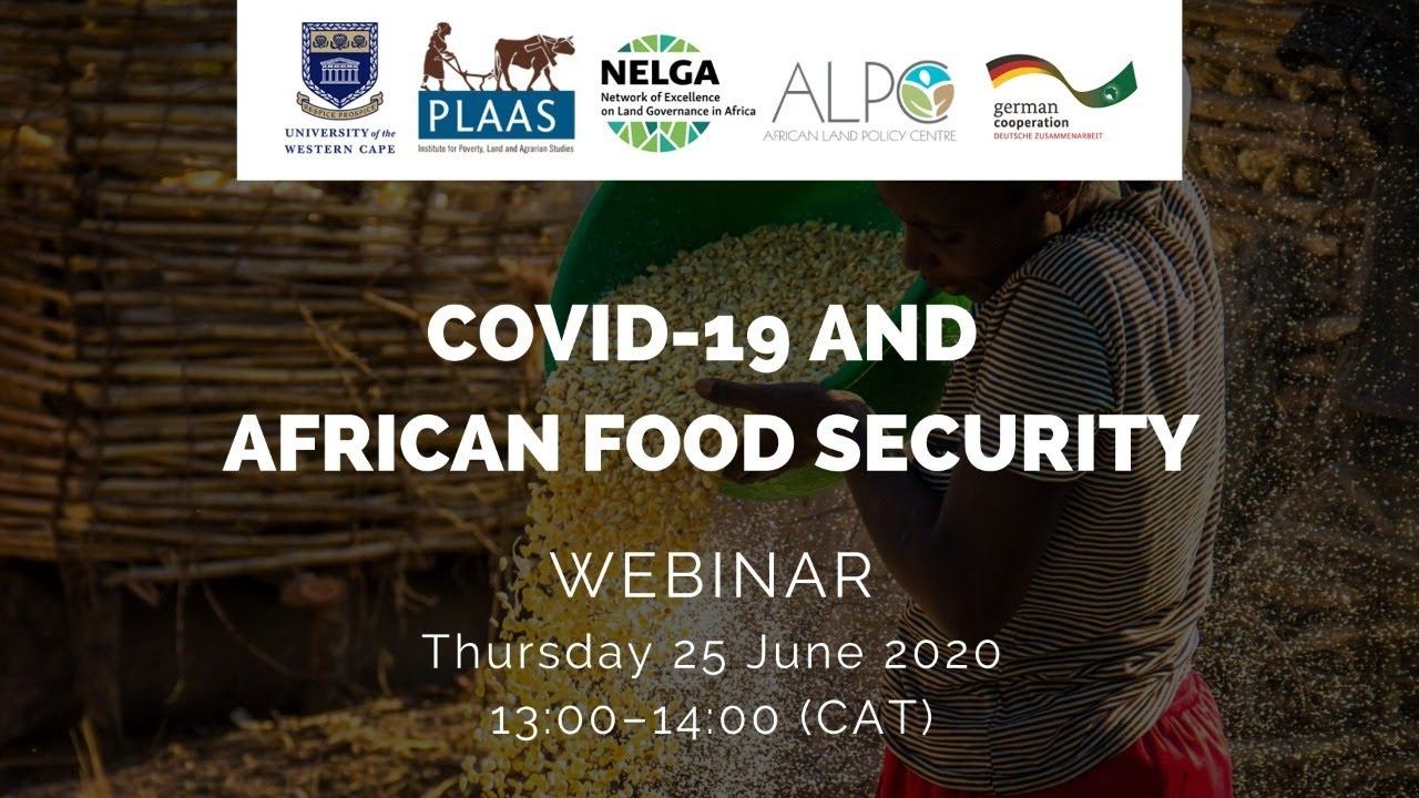 Covid-19 and African food security