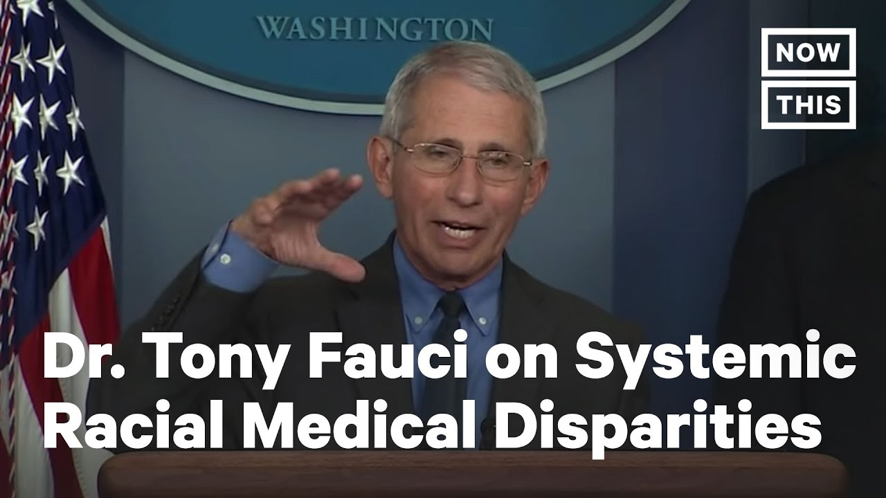 Dr. Fauci on Health Disparities in Coronavirus Cases for African