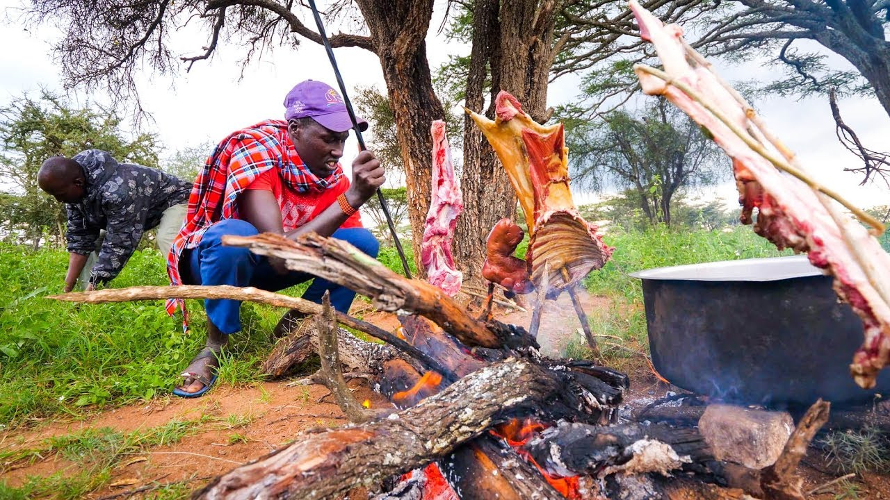 East African Food – He Gave Me The PRIZED DELICACY!