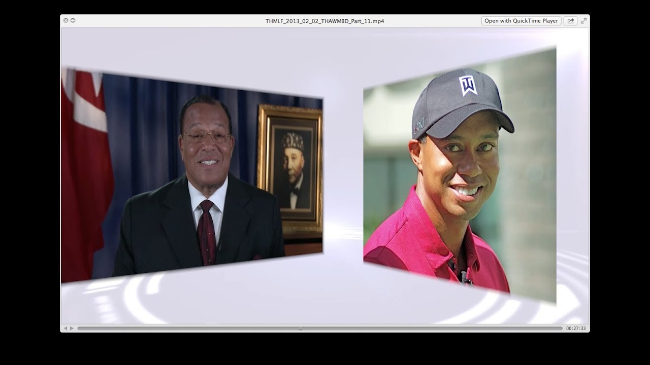 Farrakhan on Tiger Woods & The Rise and Fall of