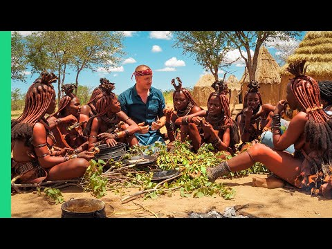 Food in Africa!! EPIC Food Tour from Namibia to Nigeria!!!