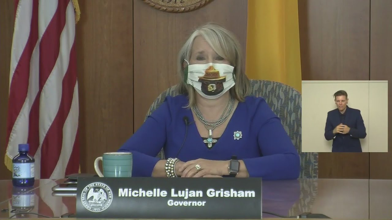 Gov. Lujan Grisham, health officials provide update on amended public