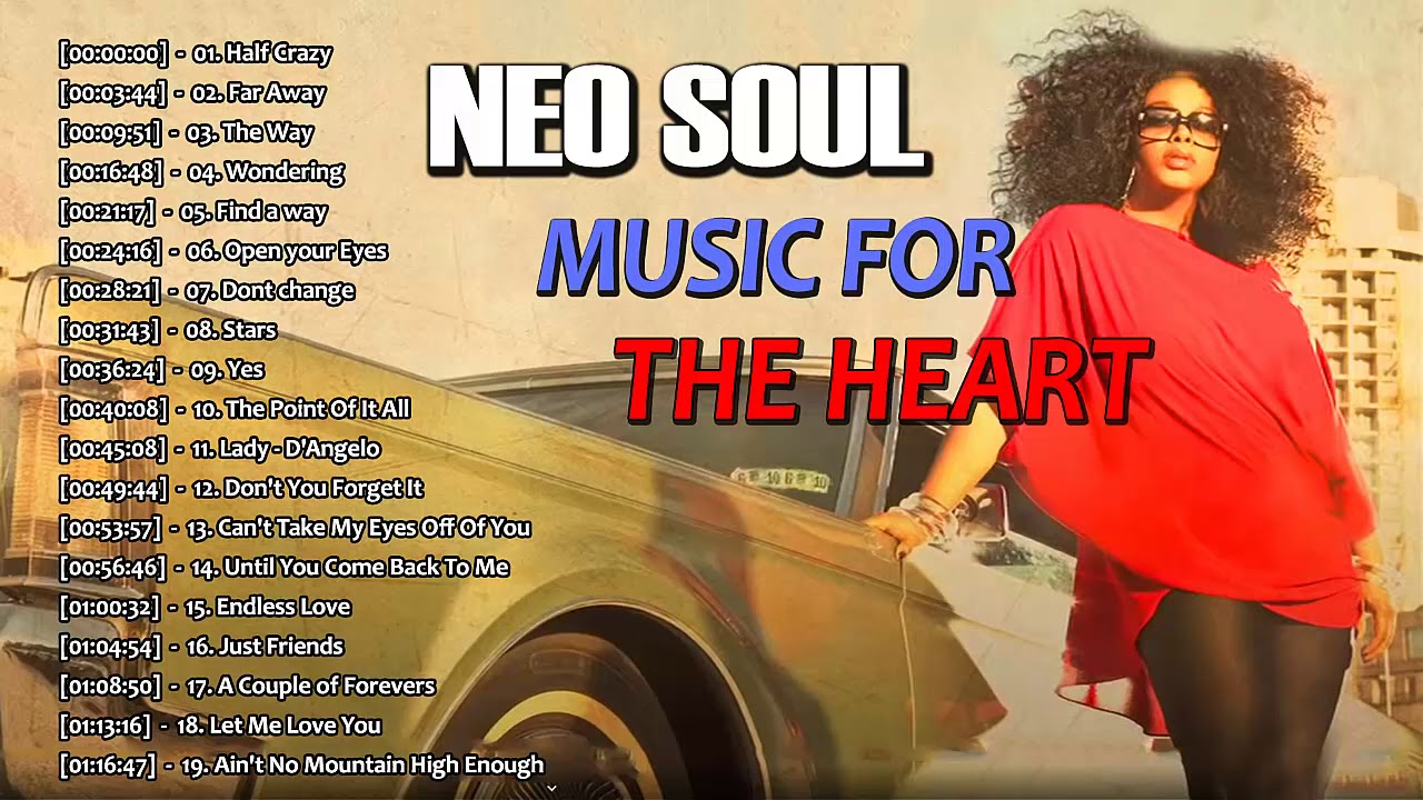 Greatest Neo Soul Songs Of All Time ♪ღ♫ Neo Soul