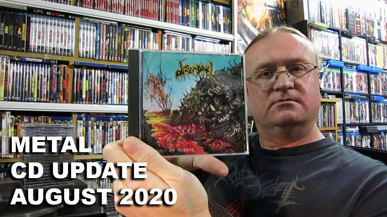 METAL CD Collection Update – August 2020 (Black / Death