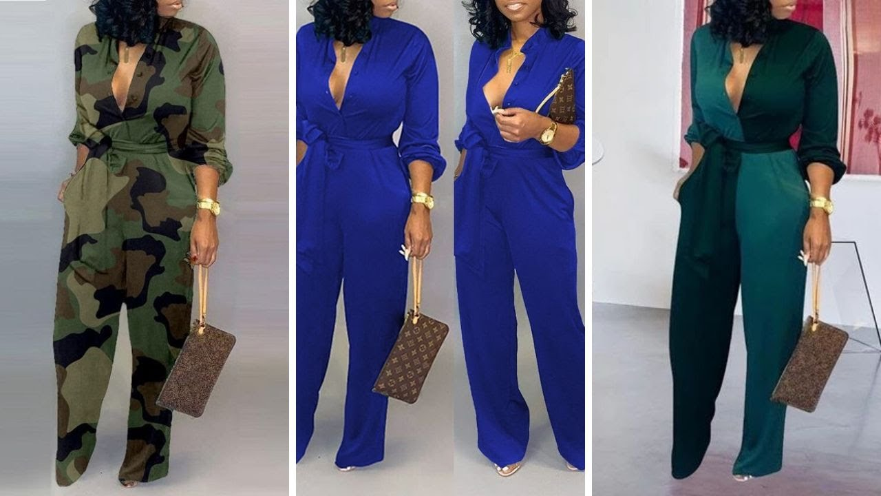 Must Have Trending African American Jumpsuits for Corporate Ladies |