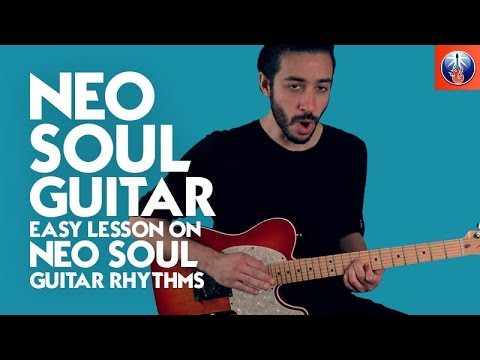 Neo Soul Style Chord Progression – Rhythm Guitar Lesson on