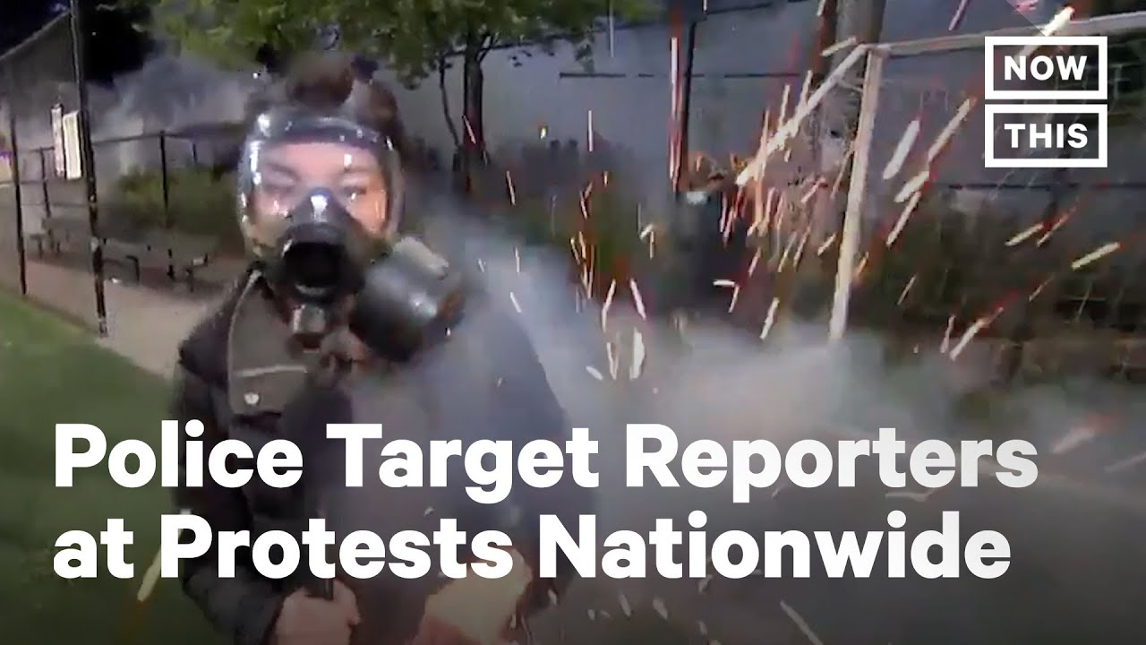 Police Attack Reporters at Black Lives Matter Protests | NowThis
