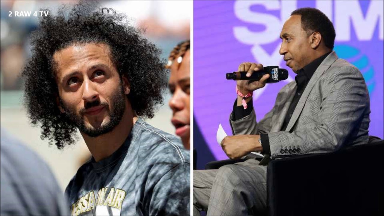 STEPHEN A. SMITH LOVES TO BASH BLACK ATHLETES HE SOLD
