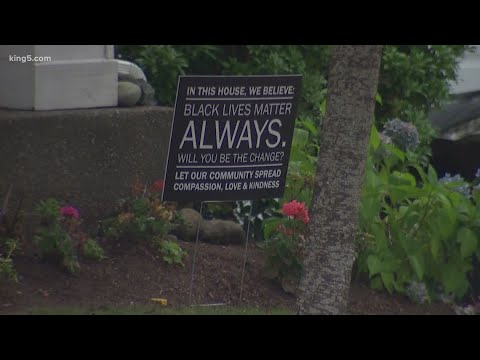 Snoqualmie Ridge homeowners at odds with HOA over 'Black Lives