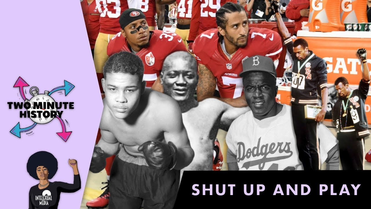 TWO MINUTE HISTORY | Black Athletes