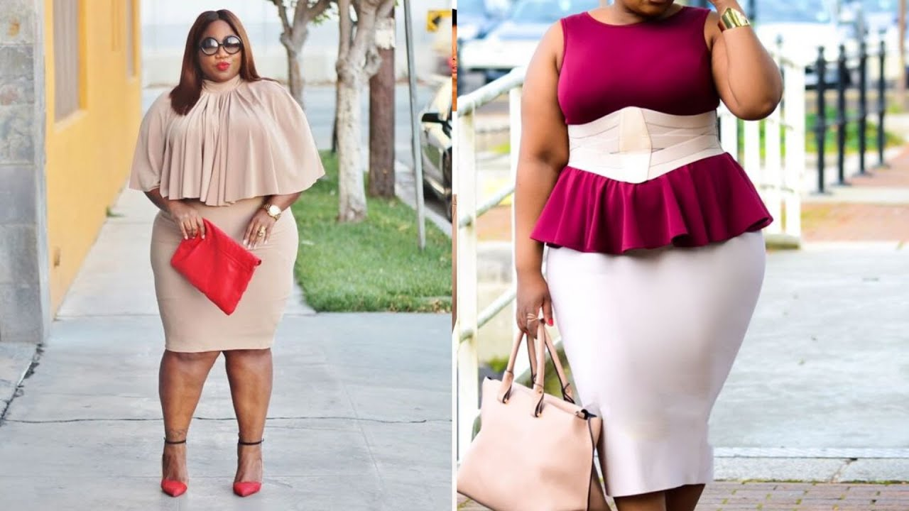 The Most Amazing Plus Size Fashion to Spice Up Your