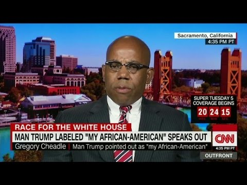 The man Trump called 'my African-American' spea…