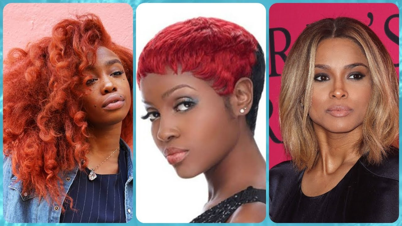 Top 20 african american hair color trends 2018