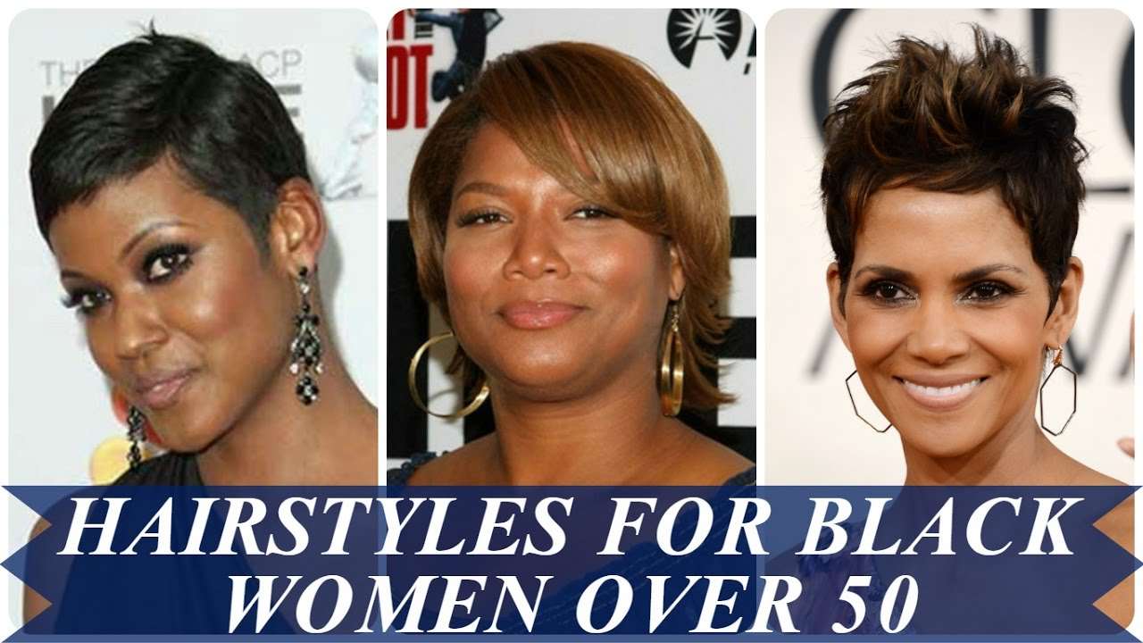 Trends haircuts & hairstyles for african american women over 50