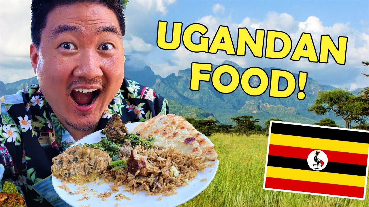 Trying UGANDAN FOOD for the First Time | What is