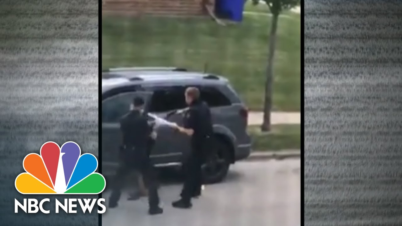 Video Shows Wisconsin Police Shooting Black Man In Back |