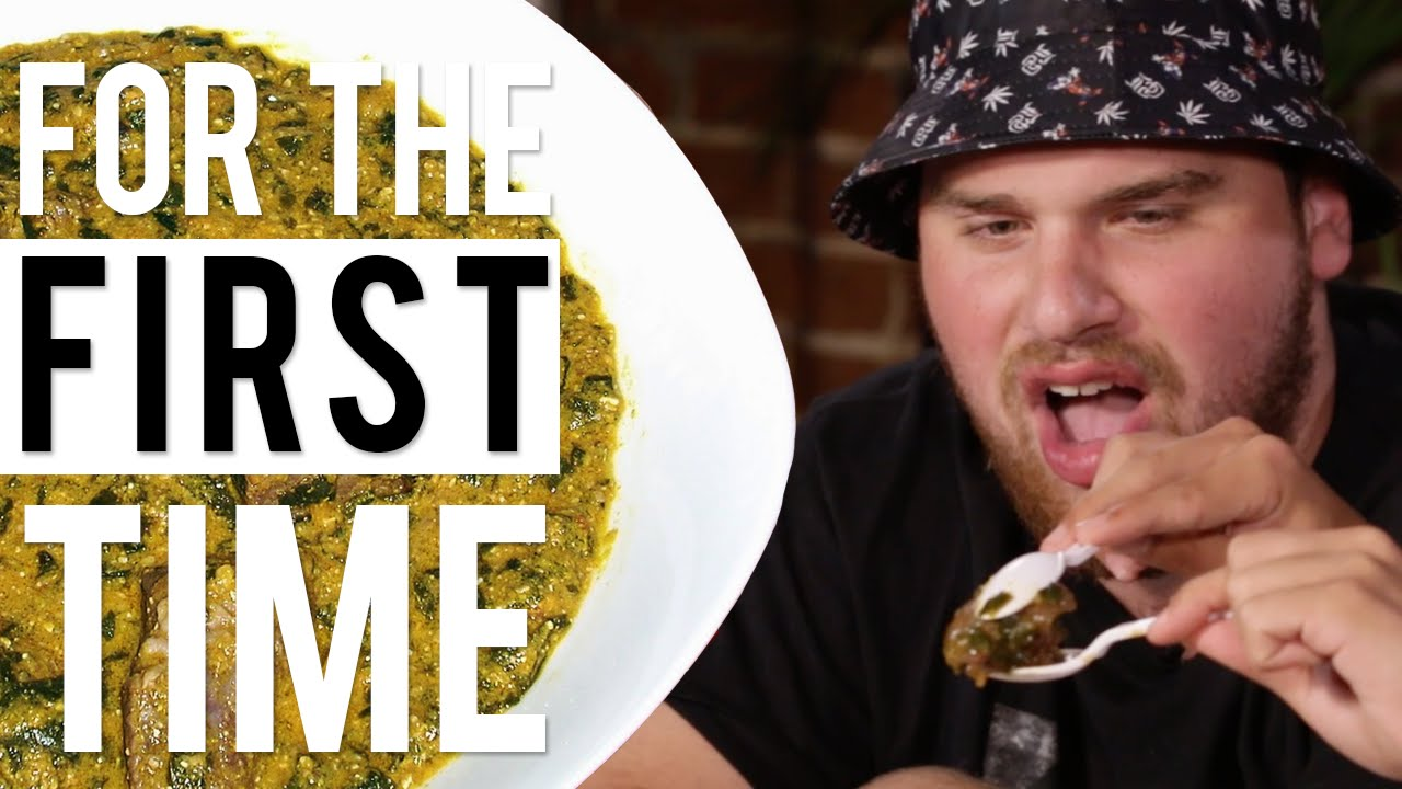 White People Try African Food 'For the First Time' |