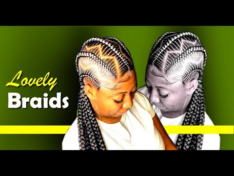 100 Beautiful African Braids and Braided Hairstyles that stands you