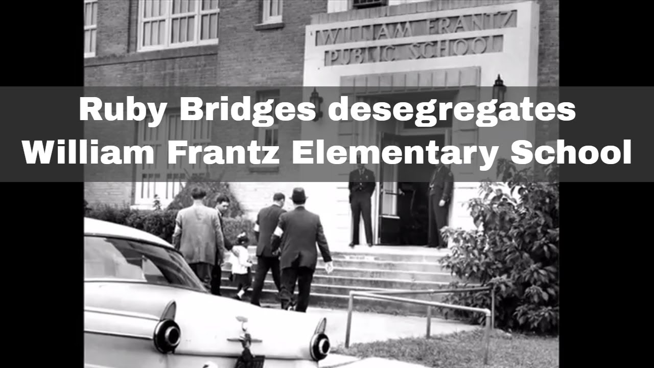 14th November 1960: Ruby Bridges, the first African-American to desegregate