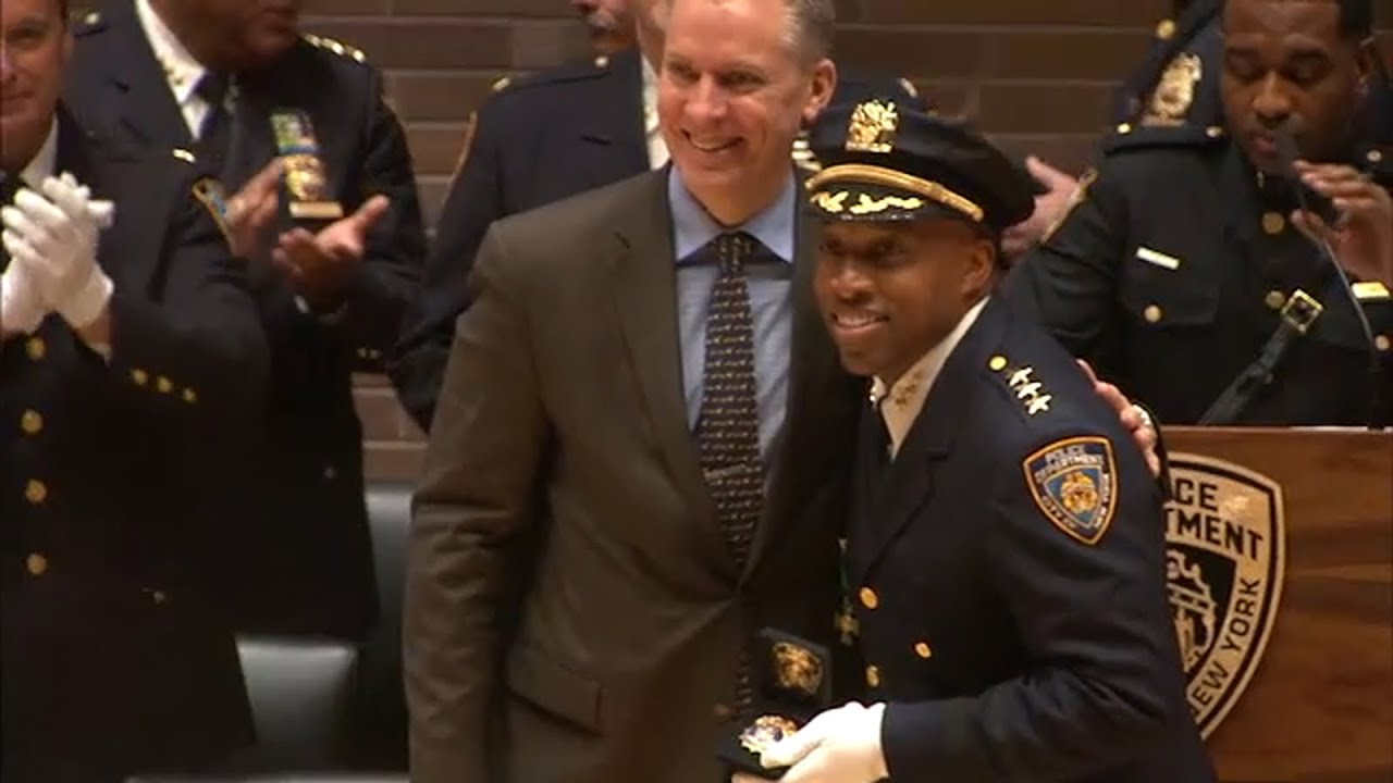 Rodney Harrison makes history as 1st African-American NYPD Chief of