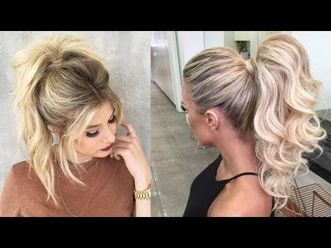 20 Ponytail Hairstyles for 2018 – Best Ideas for Ponytails