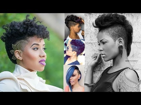 20 Short Undercut Hairstyles With Relaxed Haid For Black Women