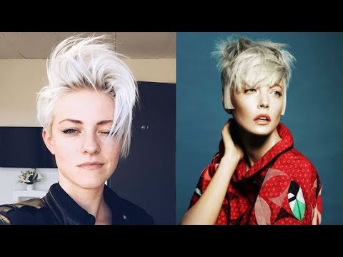 2018 Short Haircut Trends – Pixie Haircuts, Pixie Hairstyle, Pixie