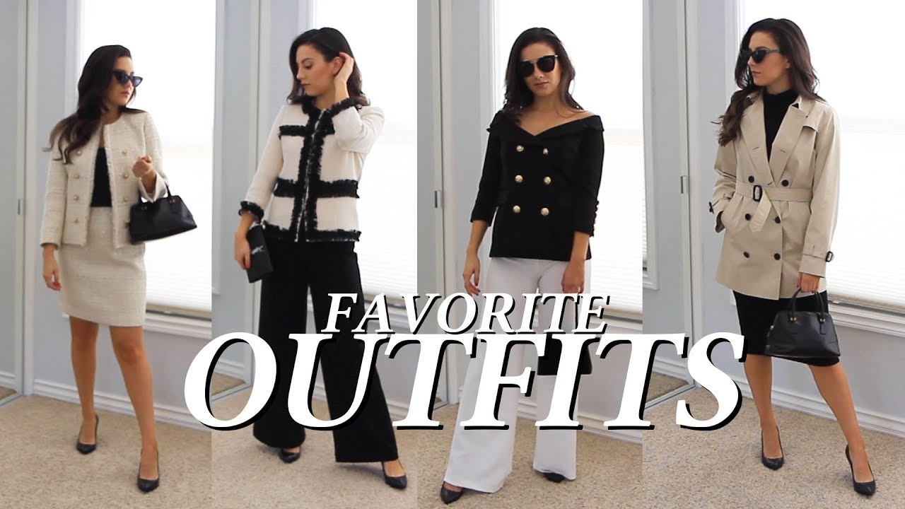 2019 Outfits Styling My Favorite Current Fashion Trends Sophisticated Styles