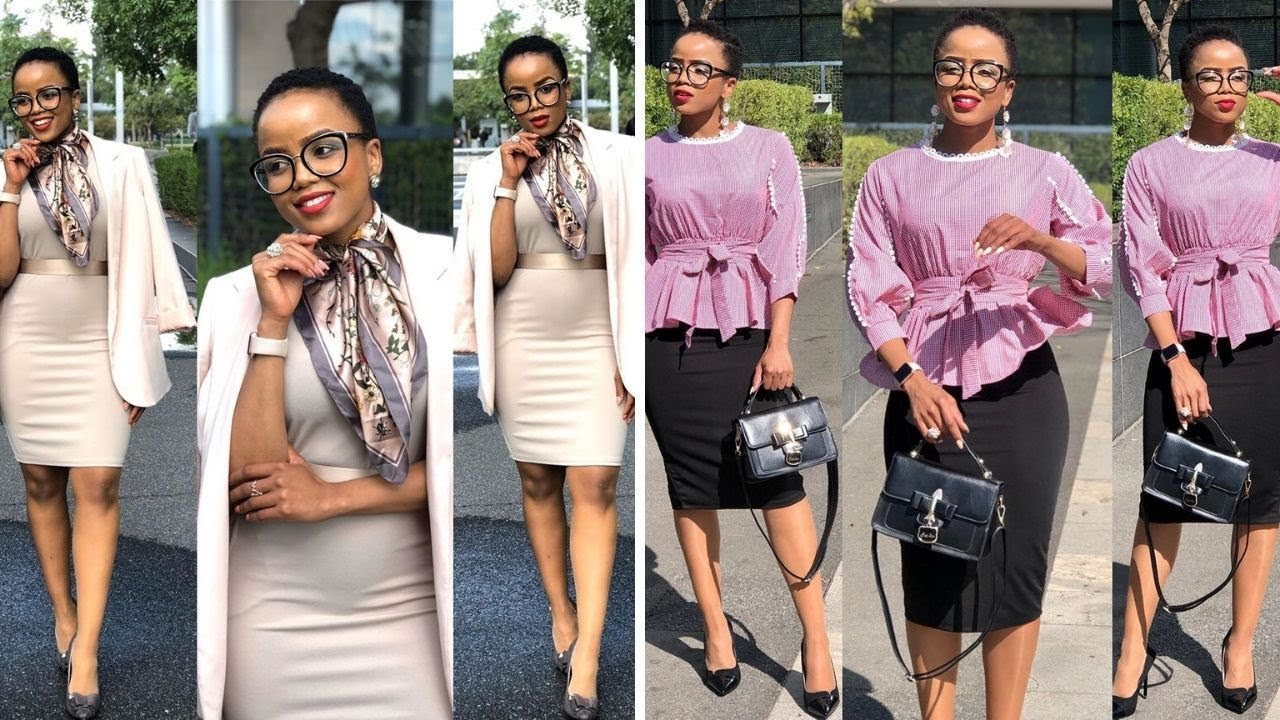 2020 Office Corporate Outfits | Ankara Aso Ebi African Prints