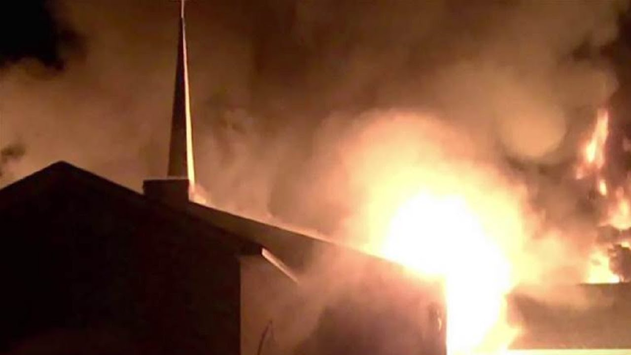 3 African-American Churches Burned Down In 10 Days