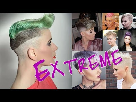 30 EXTREME Short Pixie Hairstlyes and Haircuts For a Totally