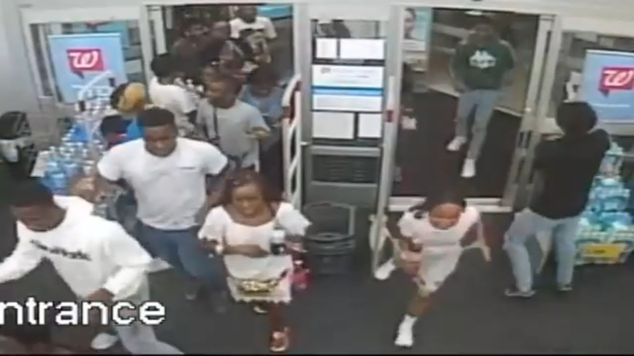 60 teenagers caught on camera looting Philadelphia Walgreens