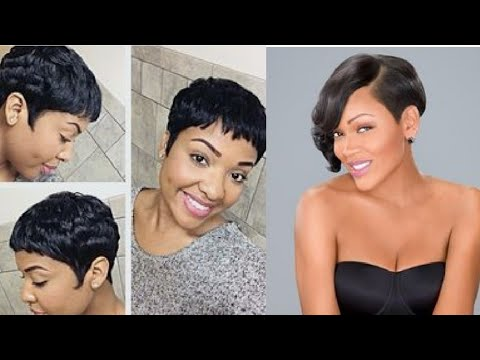 75 Sassy and Sexy Black Pixie Cuts Short Haircuts Hairstyles