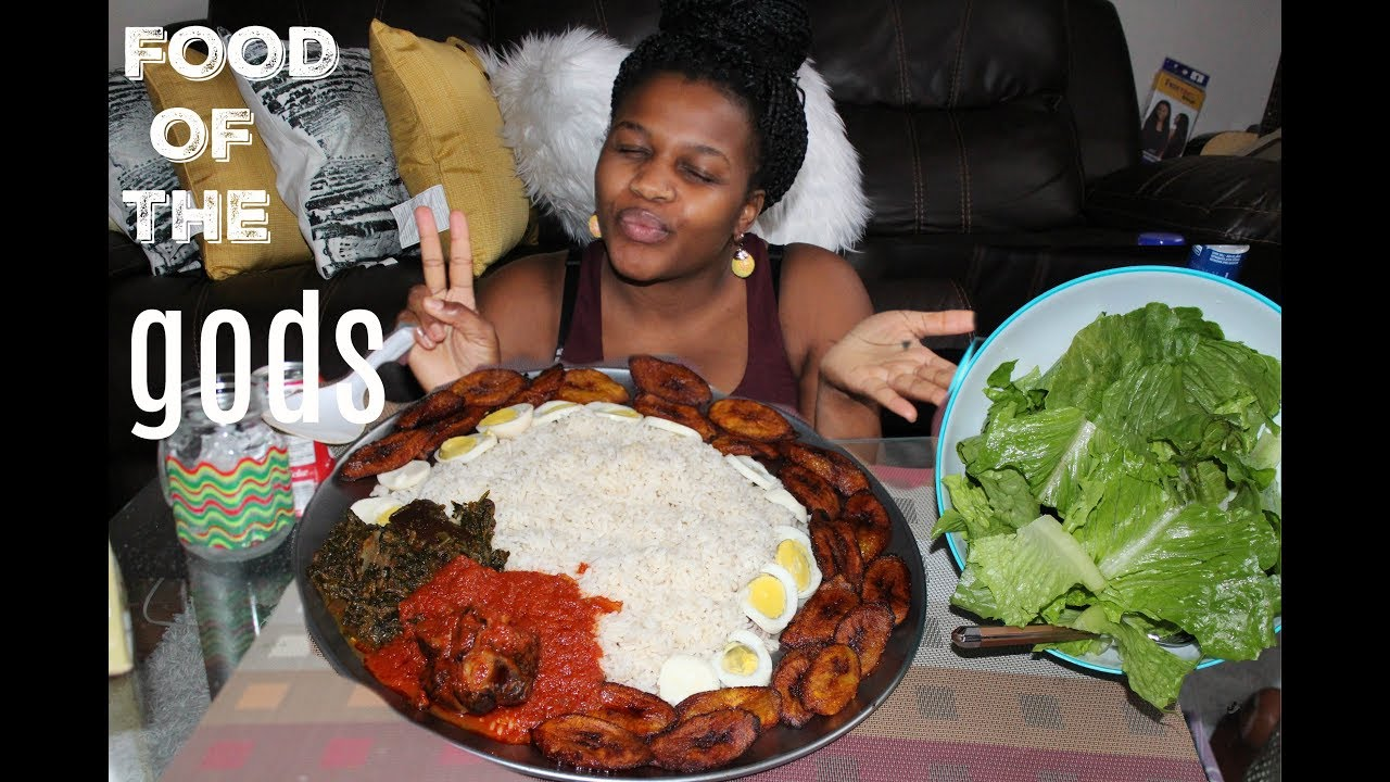 "#8 AFRICAN FOOD MUKBANG [Eating Show]: ""Food For The gods?"""