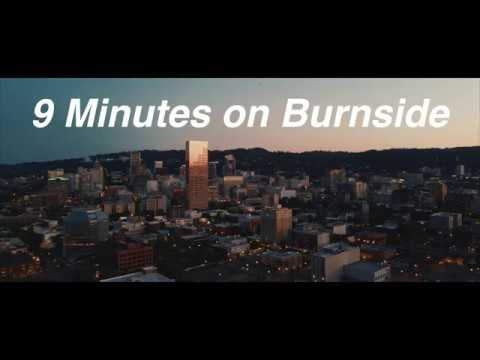 9 Minutes On Burnside – All Black Lives Matter –