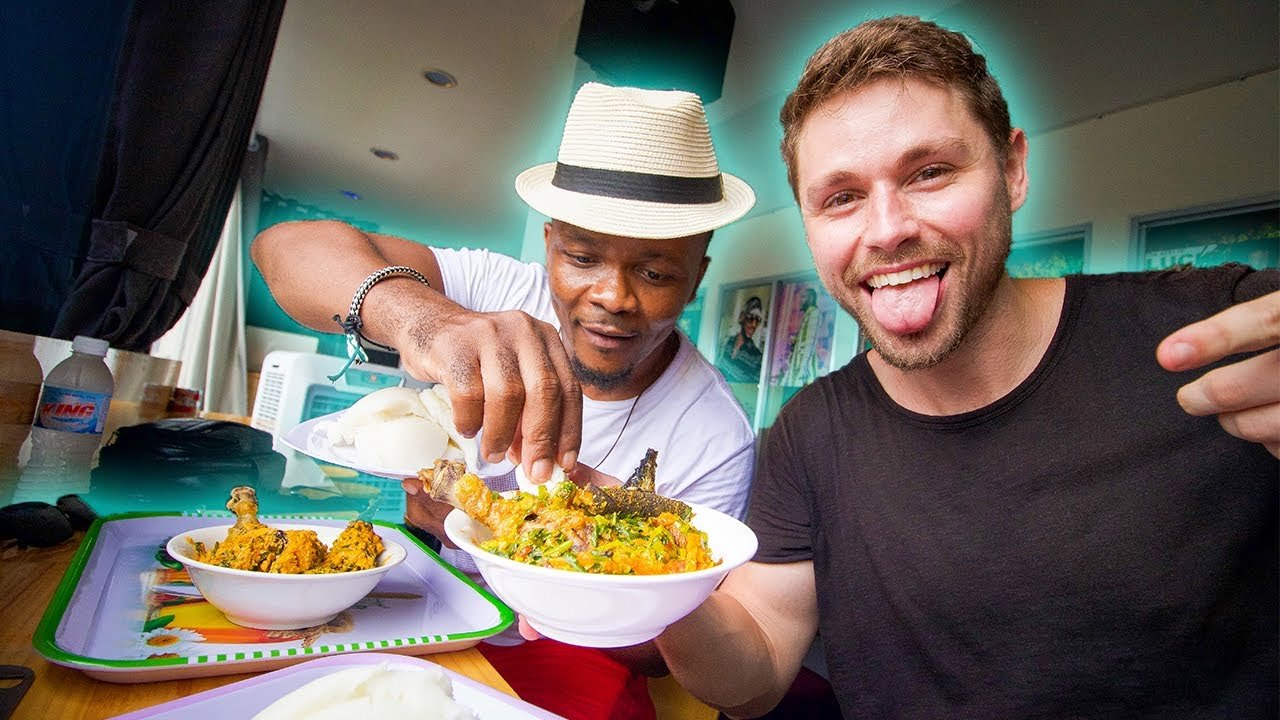 A FIRST Time For Me!!! AFRICAN food In Vietnam With